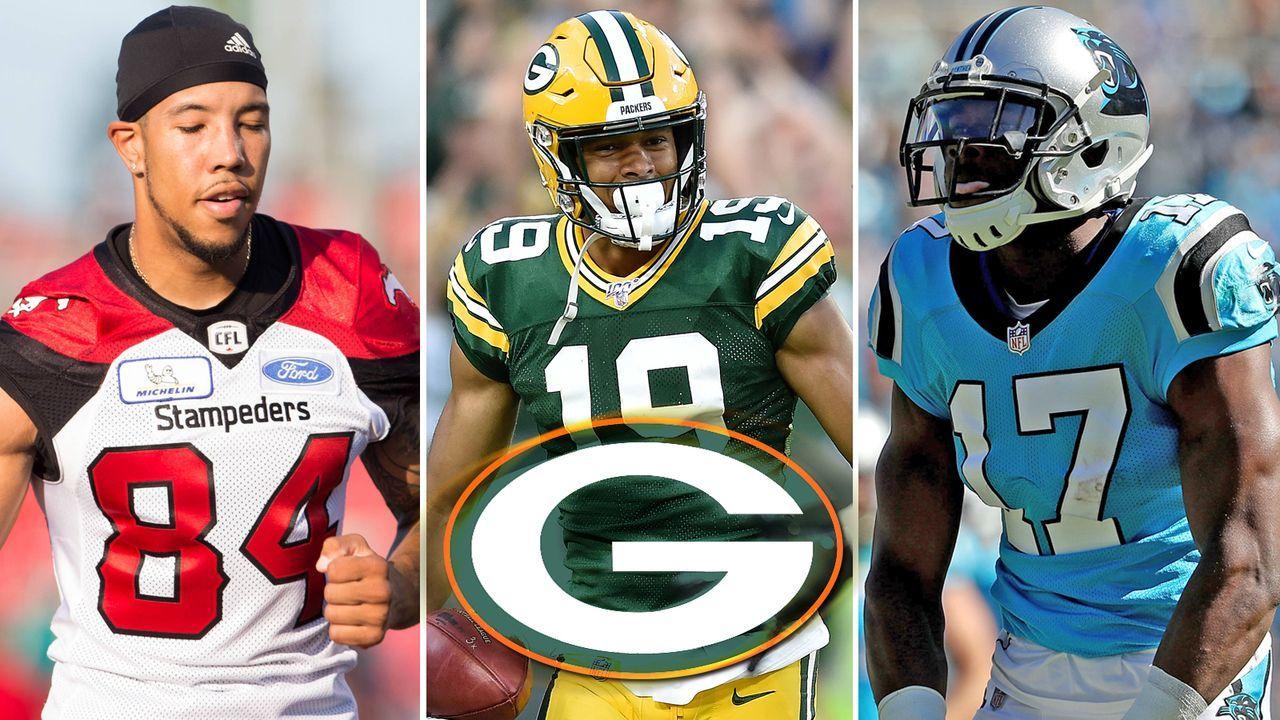 Die Konkurrenten von EQ St. Brown bei den Packers - Bildquelle: Imago