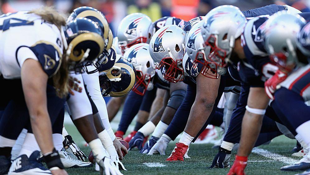 Die Rams und Patriots könnten 2018 nur im Super Bowl aufeinander treffen - Bildquelle: 2016 Getty Images