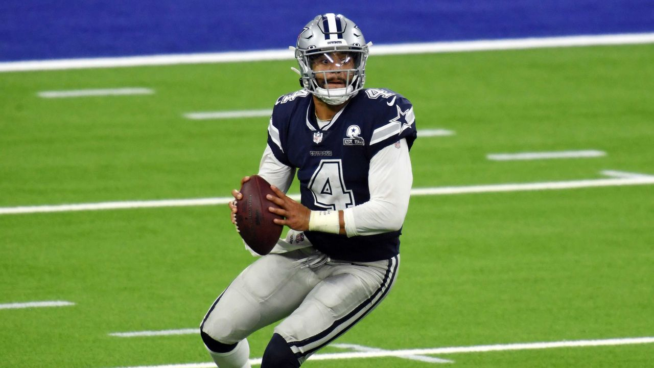 Platz 4: Dak Prescott (Dallas Cowboys)  - Bildquelle: getty
