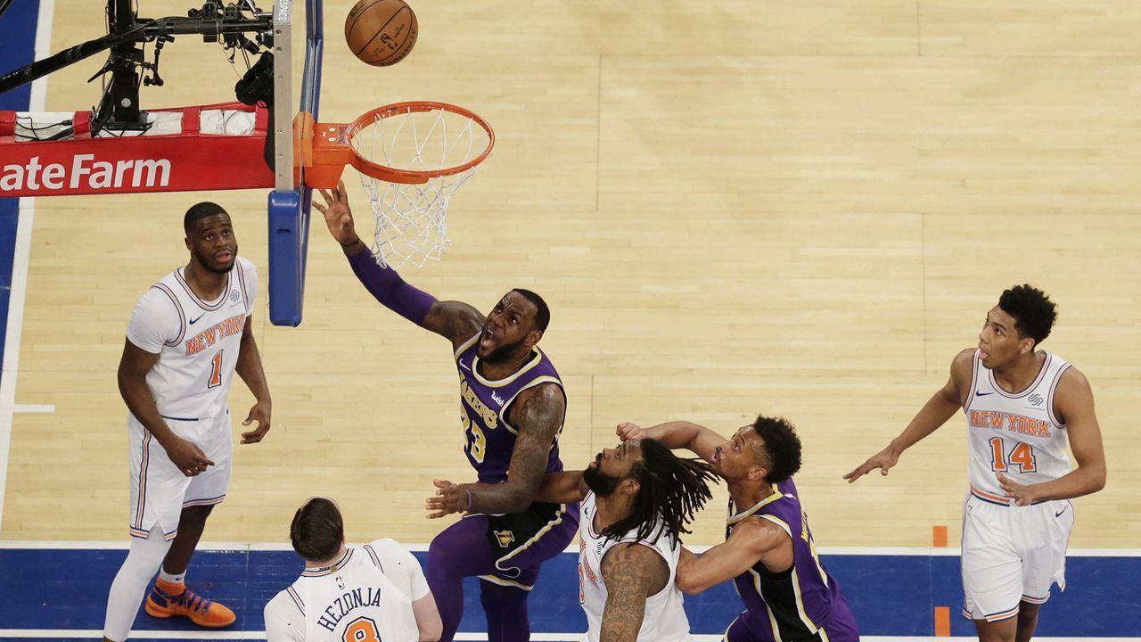 So viel sind die NBA-Franchises 2019 wert - Bildquelle: imago images / UPI Photo