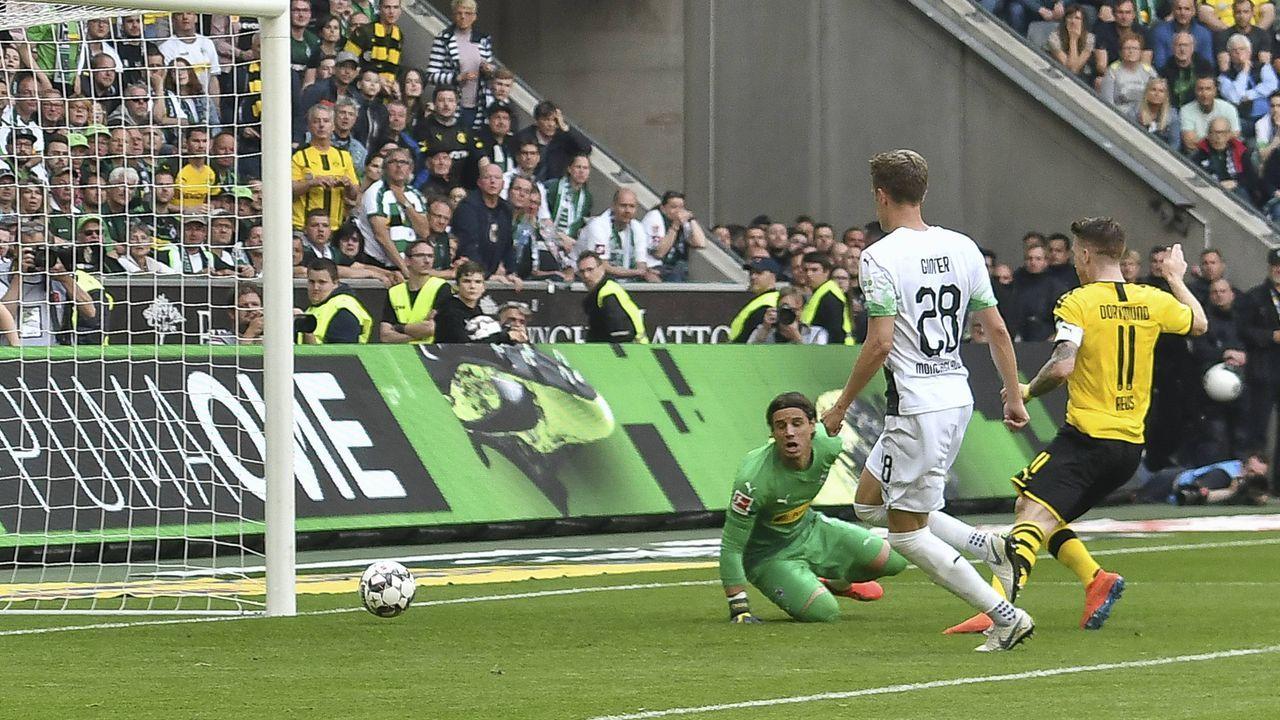 Marco Reus erhöht auf 2:0 - Bildquelle: imago images / Nordphoto