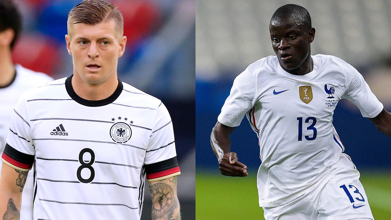 Mittelfeld: Toni Kroos vs. N'Golo Kante - Bildquelle: Imago