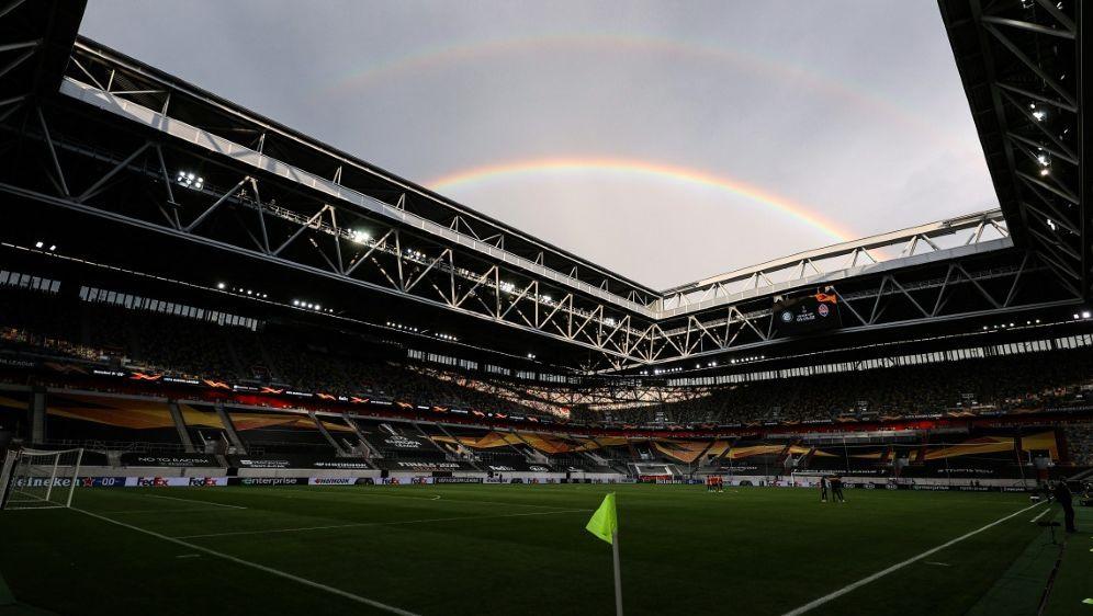In der Merkur-Spiel-Arena startet die Handball-EM 2024 - Bildquelle: AFPSIDLARS BARON