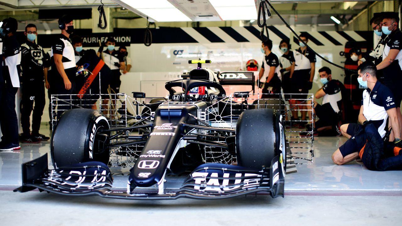 Bahrain-Tests: Fahrzeuge mit kuriosen Aufbauten - Bildquelle: Getty Images
