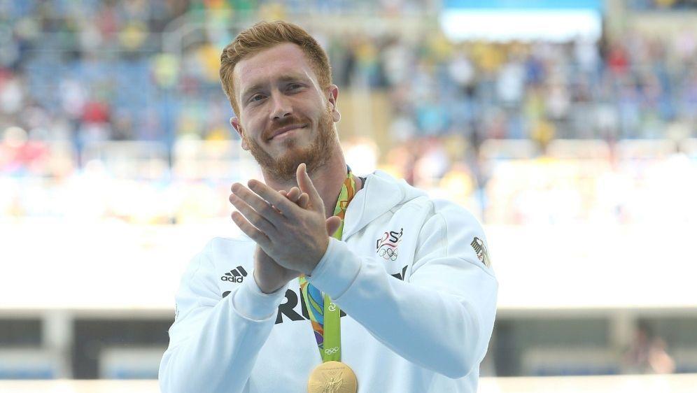 Christoph Harting bei seinem Olympiasieg 2016 in Rio - Bildquelle: firo Sportphotofiro SportphotoSIDfiro SportphotoNEWSPIX