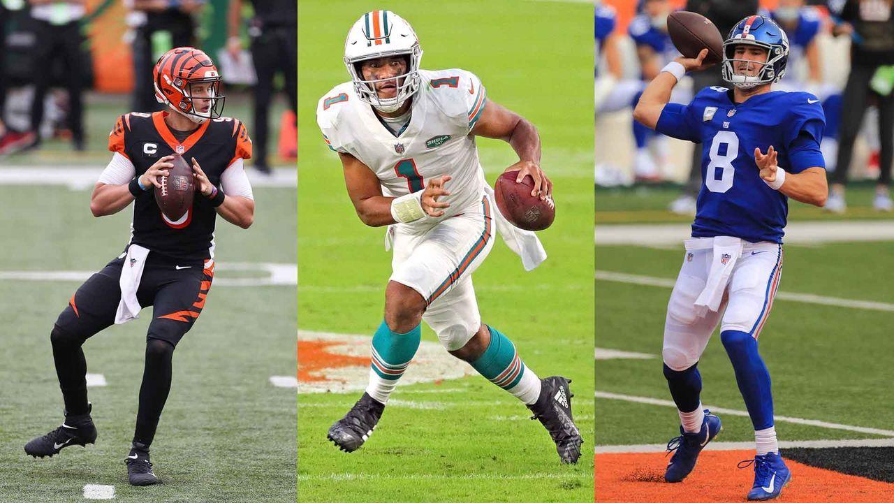 Die Top-Quarterbacks unter 25 Jahren und ihre Anspielstationen - Bildquelle: Imago Images
