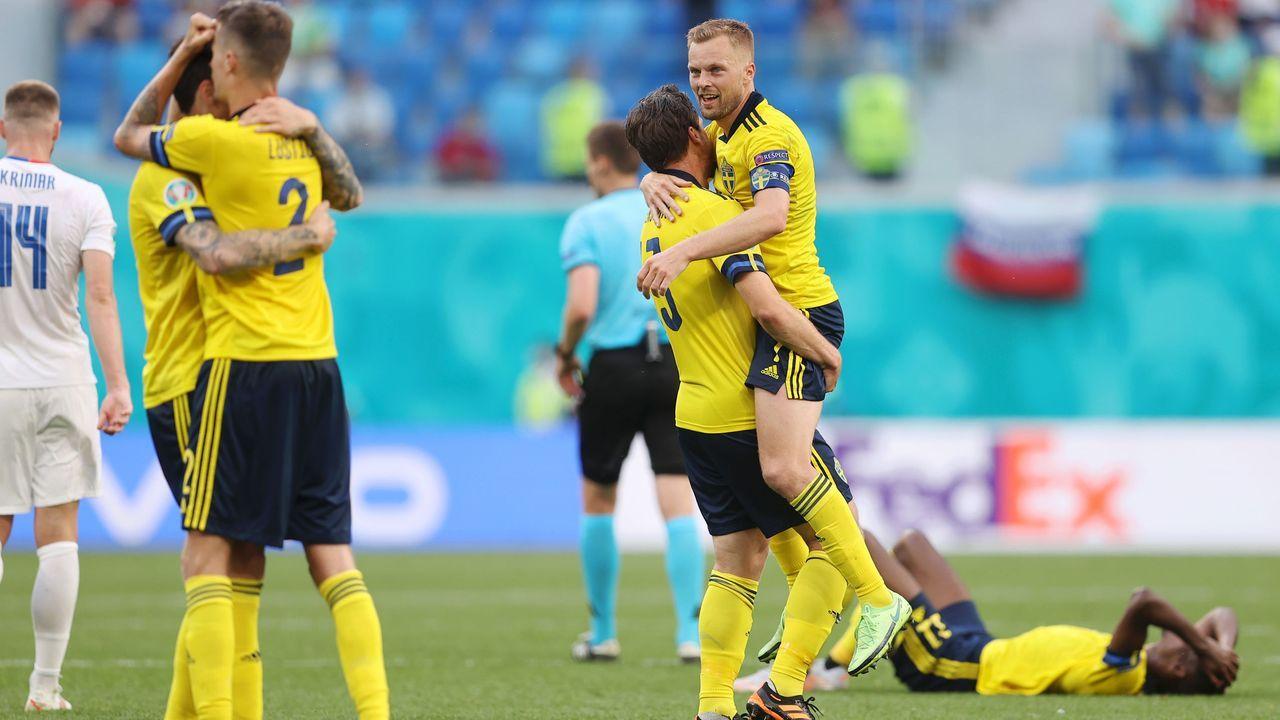 Schweden holten den ersten Sieg - Bildquelle: 2021 Getty Images
