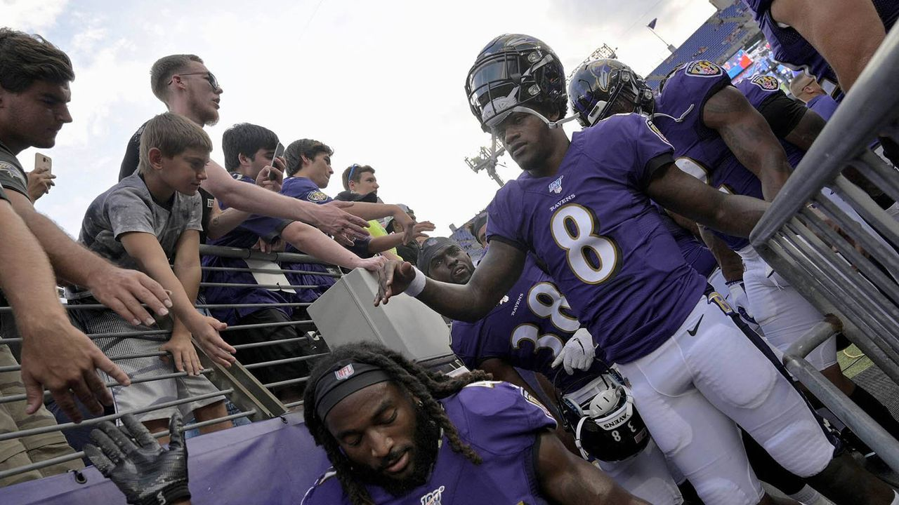 Platz 17: Baltimore Ravens - Bildquelle: imago images / ZUMA Press