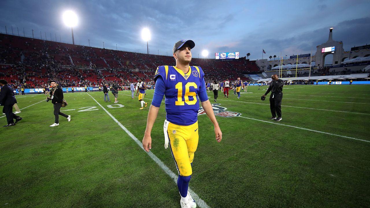 Jared Goff (Los Angeles Rams) - Bildquelle: getty