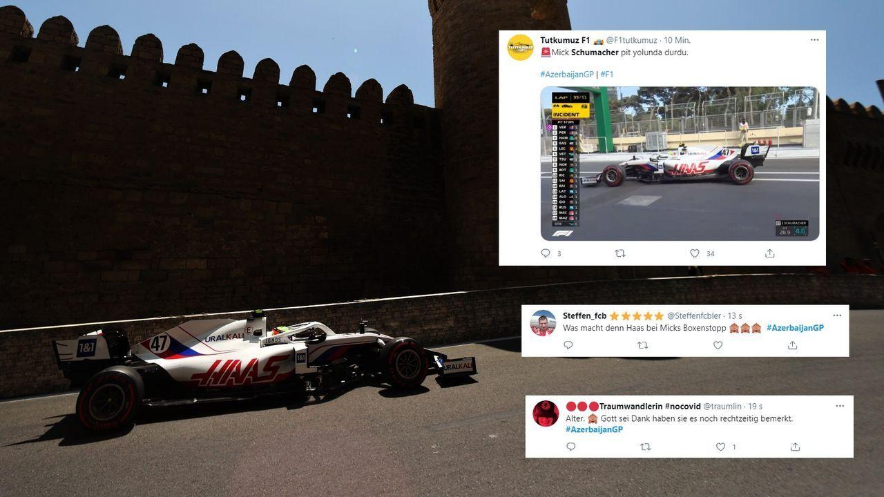 Schumacher Boxenstopp misslingt - Bildquelle: Getty