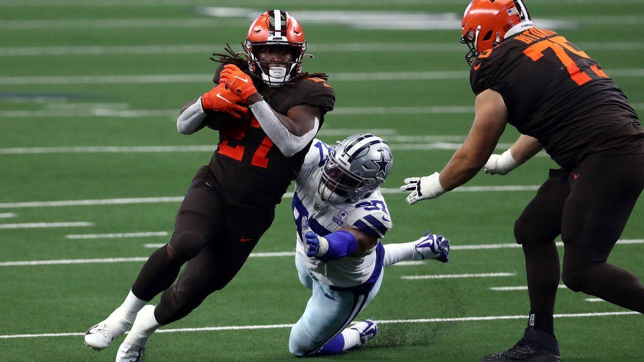 Rushing Offense: Cleveland Browns - 50 Punkte - Bildquelle: 2020 Getty Images
