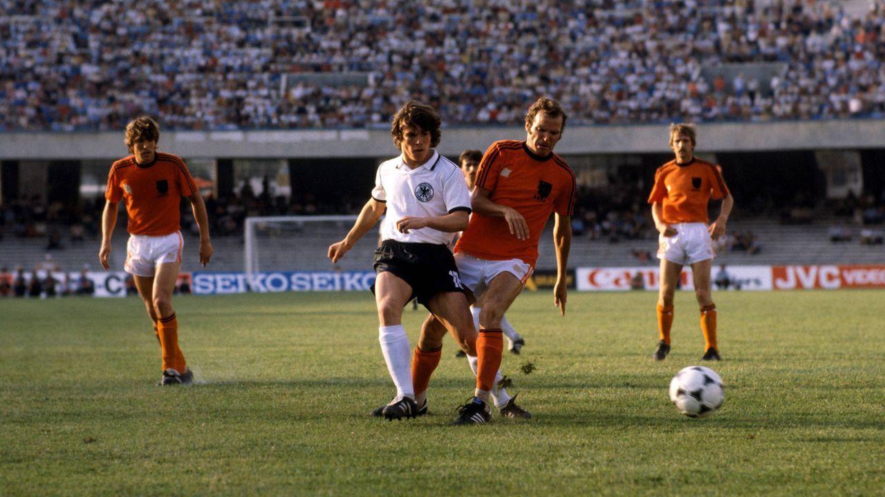 Deutschland – Niederlande 3:2 (EM 1980, Vorrunde) - Bildquelle: imago/Sportfoto Rudel