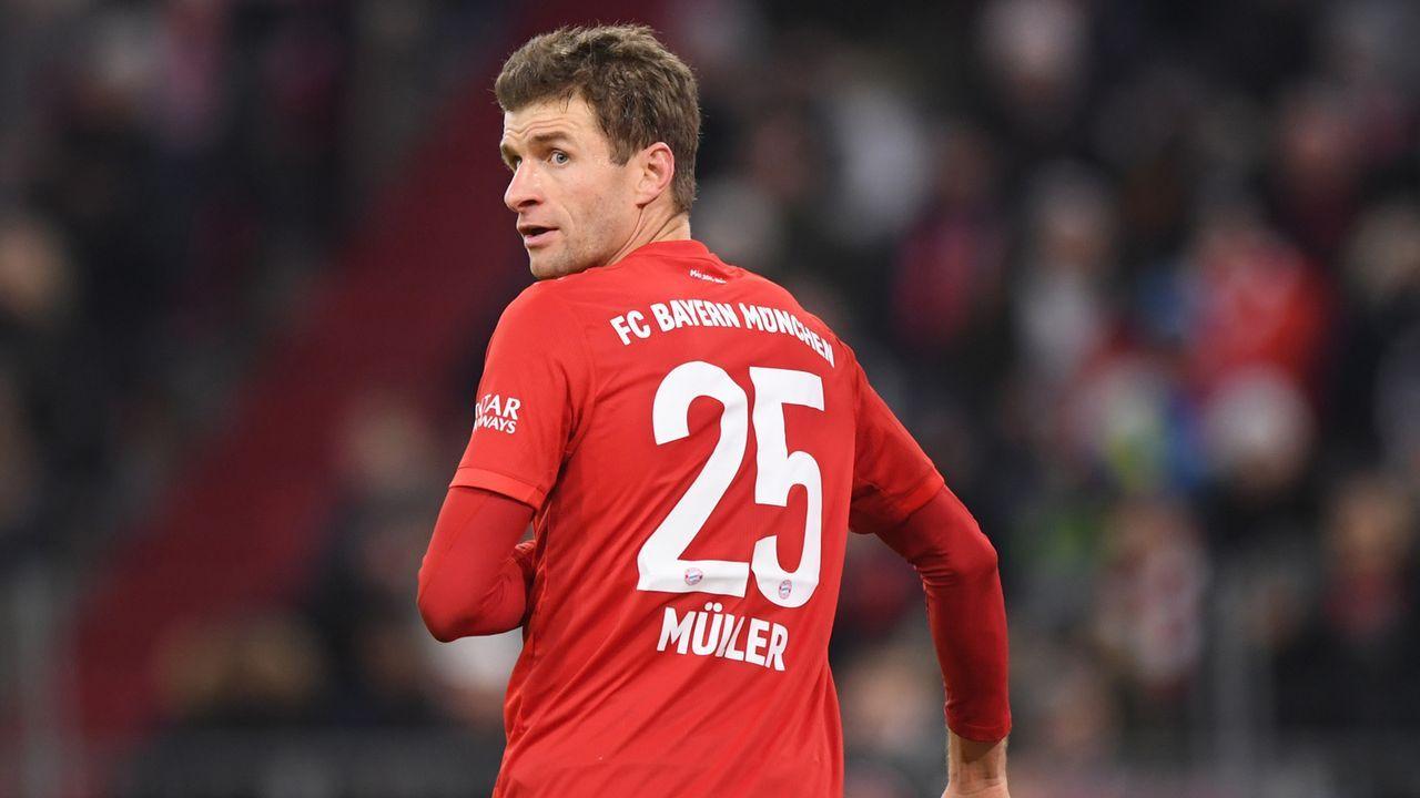 Offensives Mittelfeld: Thomas Müller - Bildquelle: 2019 Getty Images