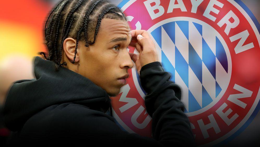 Will er zum FC Bayern oder nicht? Leroy Sane sorgt weiter für Spekulationen - Bildquelle: imago images / PA Images