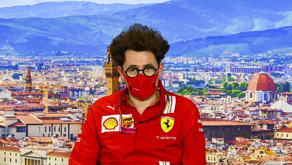 Mattia Binotto darf weiter das Ferrari-Team leiten