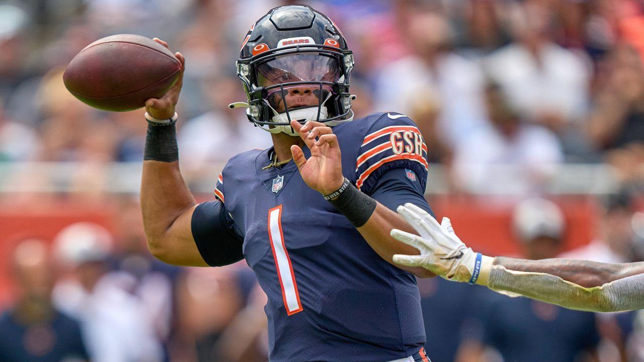 4. Justin Fields (Chicago Bears) - Bildquelle: Imago