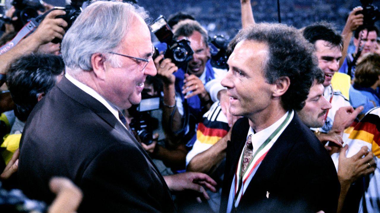 WM-Finale 1990: Argentinien - Deutschland - Bildquelle: imago images/Laci Perenyi