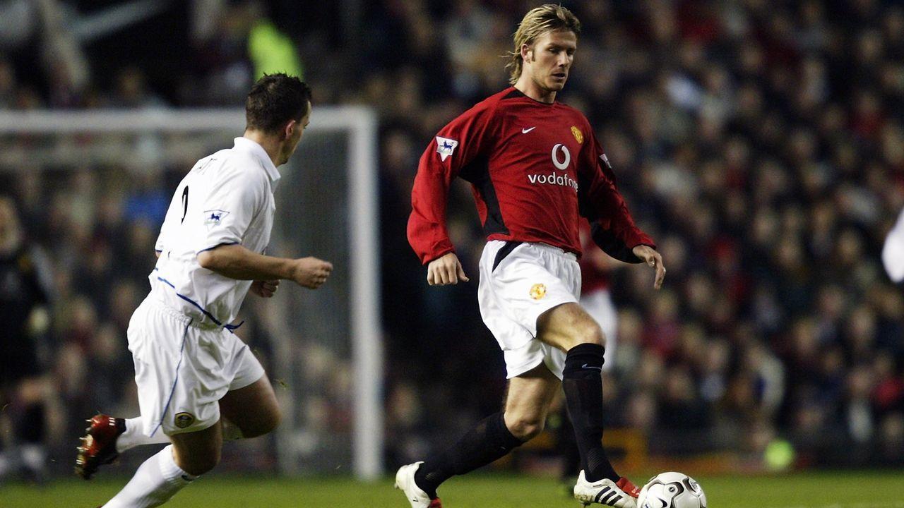 Mittelfeld: David Beckham - Bildquelle: 2003 Getty Images