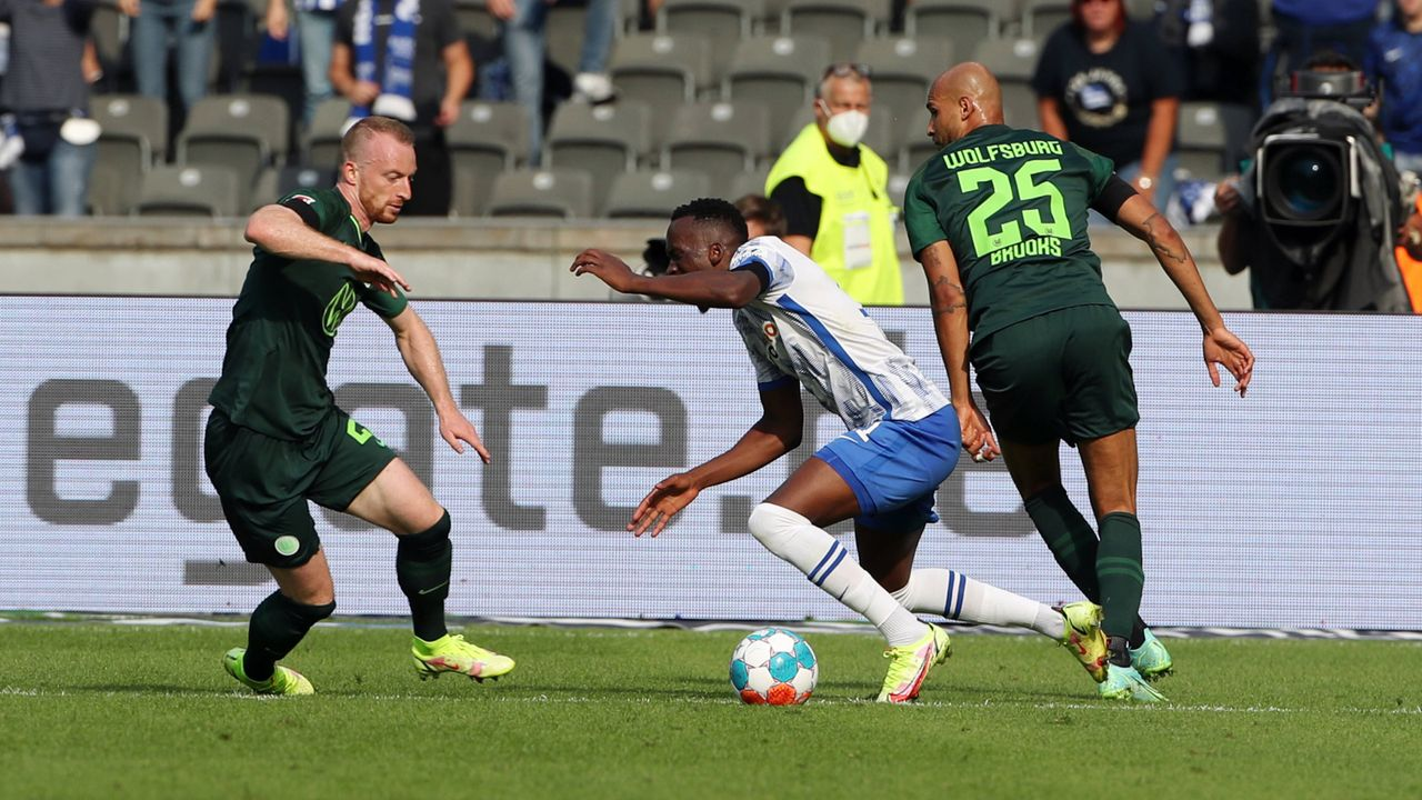 Dodi Lukebakio (VfL Wolfsburg) - Bildquelle: Imago