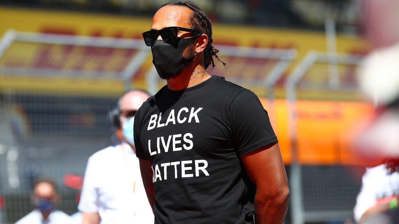 Platz 1: Lewis Hamilton - Bildquelle: 2020 Getty Images