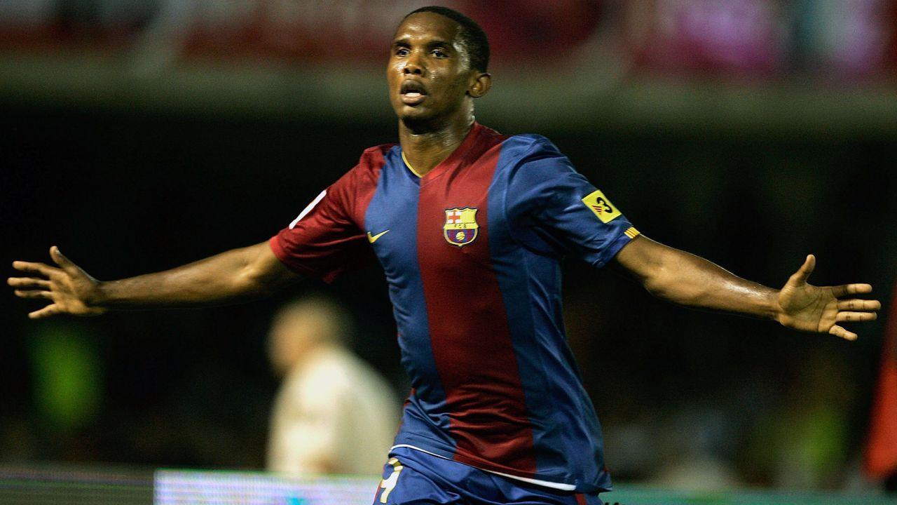 Samuel Eto'o (FC Barcelona) - Bildquelle: 2006 Getty Images