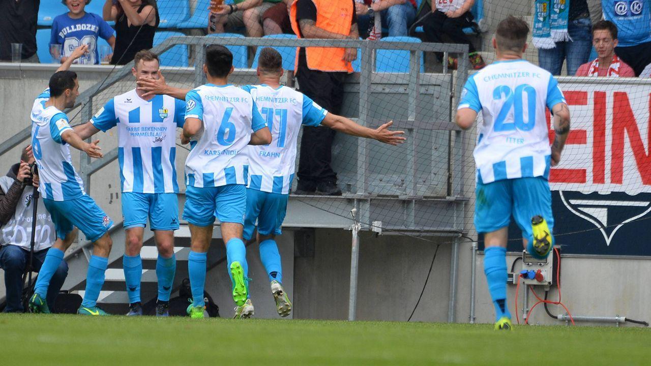 Chemnitzer FC - Bildquelle: imago images / Eibner