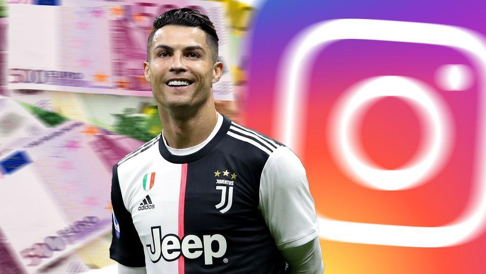 Kein anderer Star verdient mehr durch Instagram als Juve-Star Cristiano Rona... - Bildquelle: imago