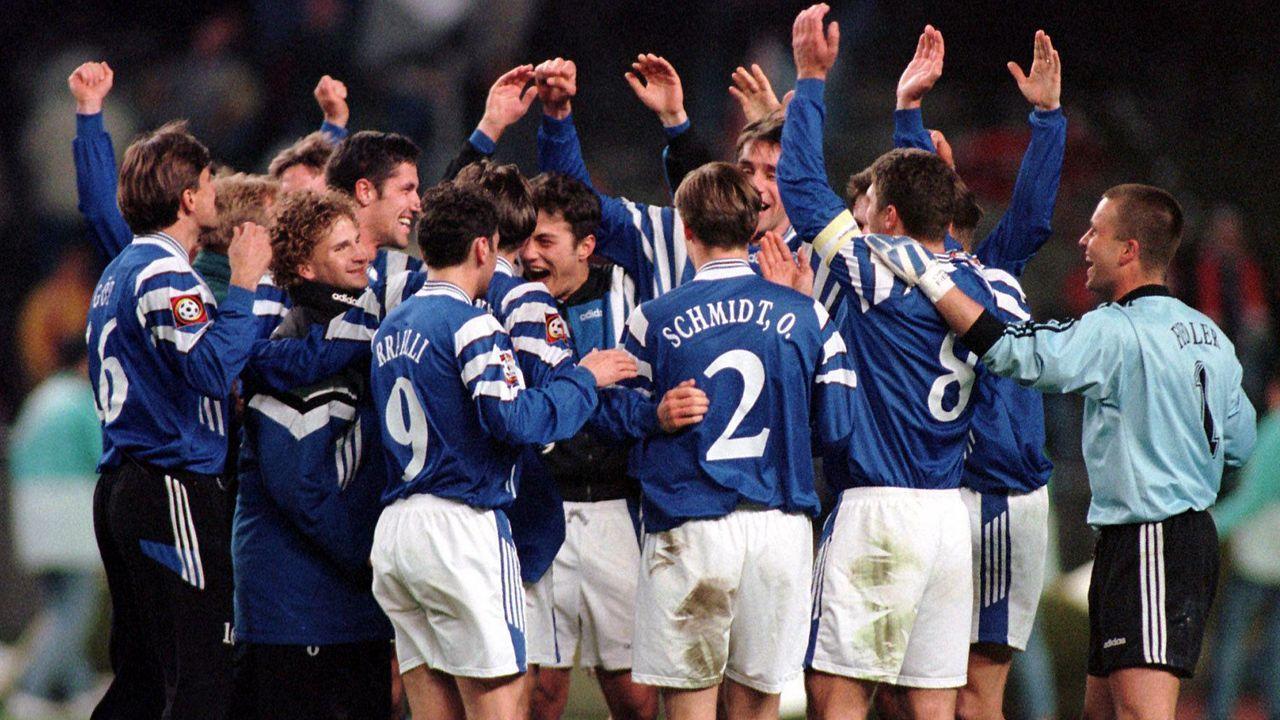 Platz 5 (geteilt): Hertha BSC - Rot-Weiss Essen 7:3 (15.09.1996) - Bildquelle: imago/Camera 4