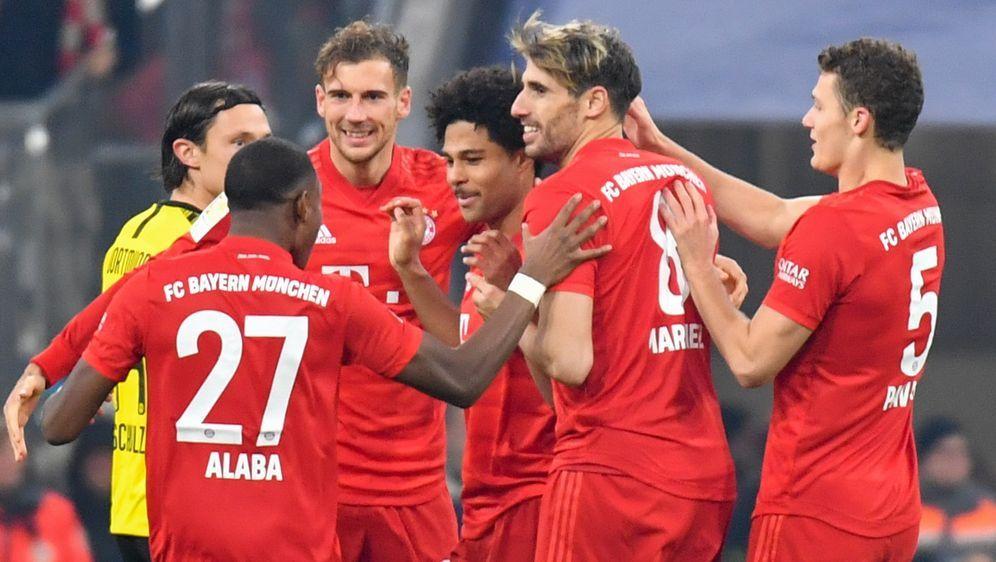 Bayern München feierte gegen Borussia Dortmund einen souveränen Sieg - Bildquelle: imago