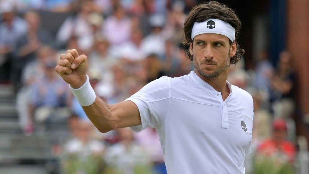Lopez jubelt über seinen siebten ATP-Tour-Titel - Bildquelle: AFPSIDDANIEL LEAL-OLIVAS