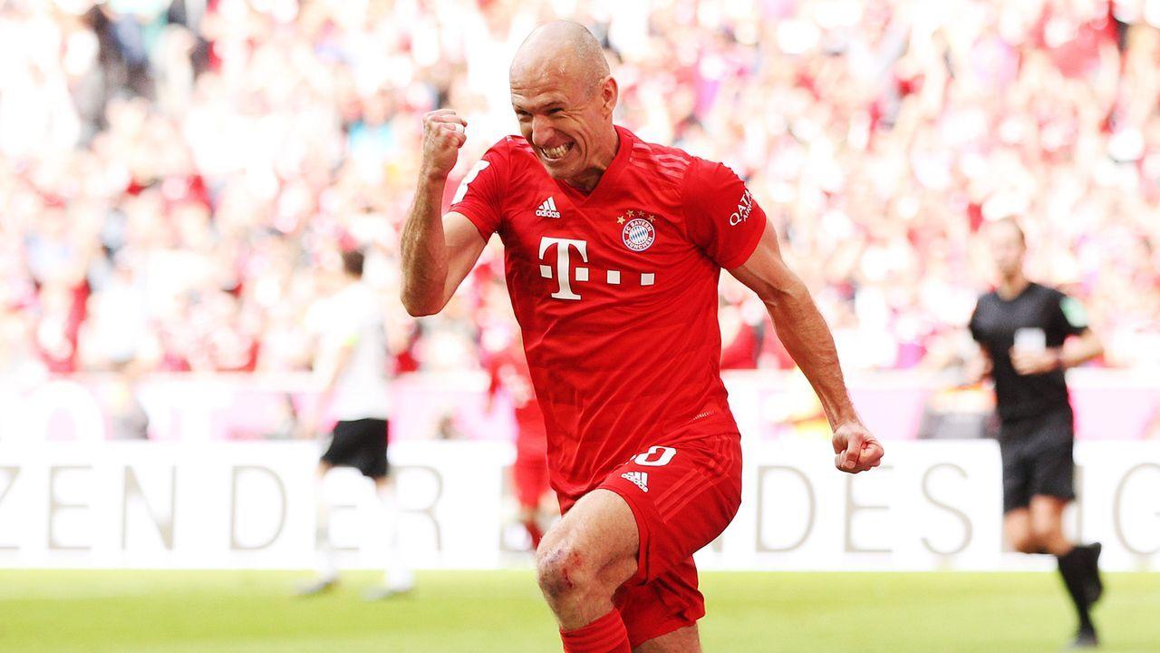 Rechtsaußen: Arjen Robben - Bildquelle: 2019 Getty Images