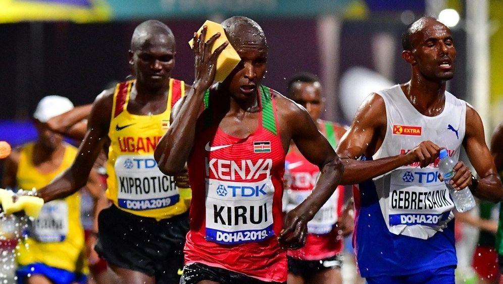 In Doha liefen die Athleten unter extremen Bedingungen - Bildquelle: AFPSIDGIUSEPPE CACACE