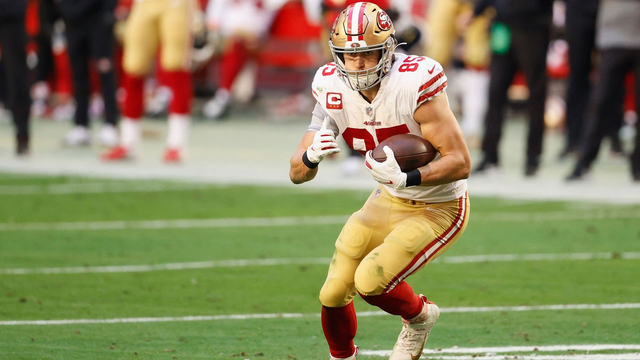 Tight End: George Kittle (San Francisco 49ers) - Bildquelle: 2021 Getty Images
