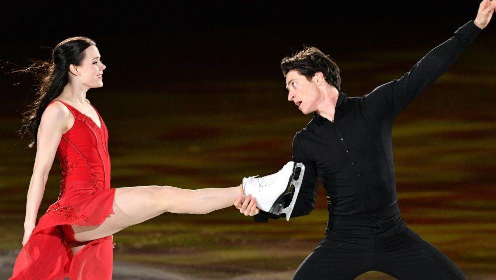 Tessa Virtue und Scott Moir beenden ihre Karriere - Bildquelle: AFPSIDMLADEN ANTONOV
