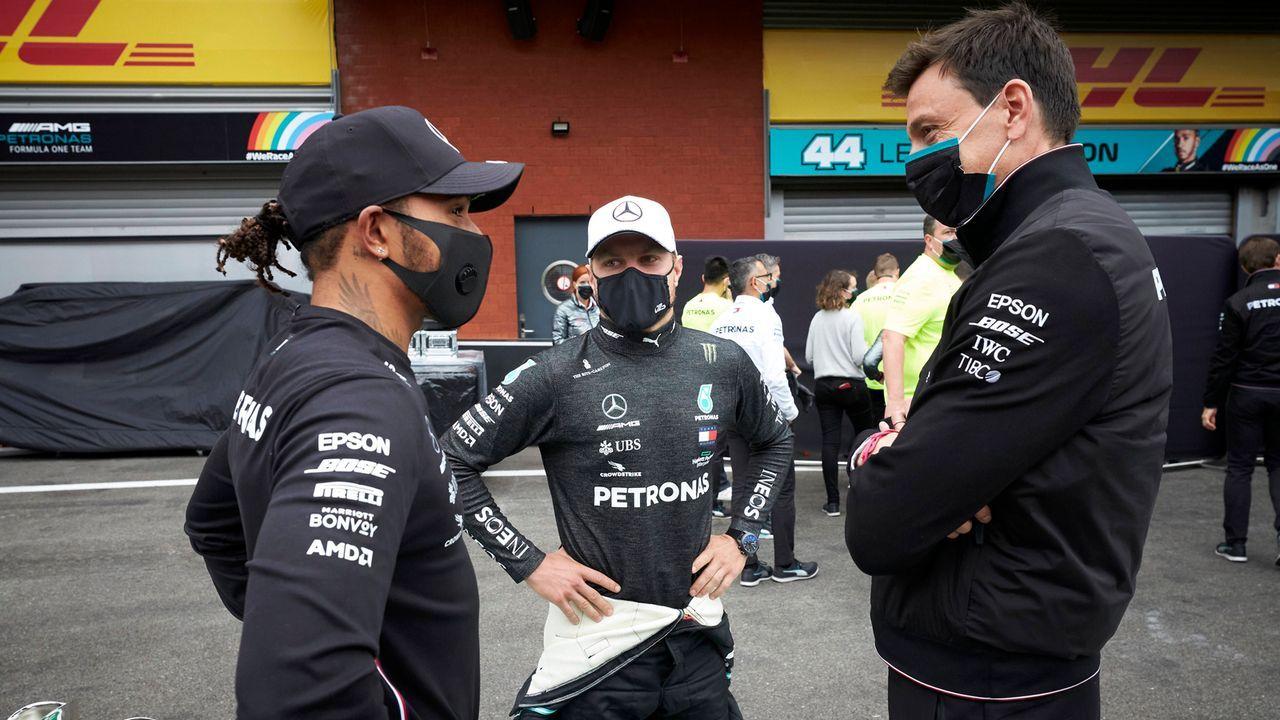 Formel 1 in Sotschi: Mercedes und die Angst vor dem Netflix-Fluch - Bildquelle: imago images/Motorsport Images