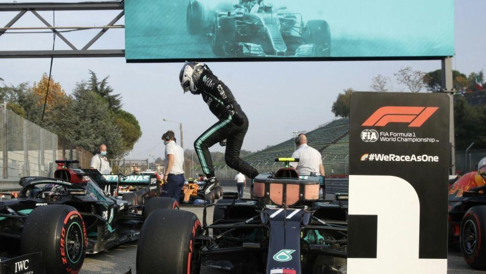 Valtteri Bottas hat sich die Pole Position gesichert - Bildquelle: POOLPOOLSIDLUCA BRUNO