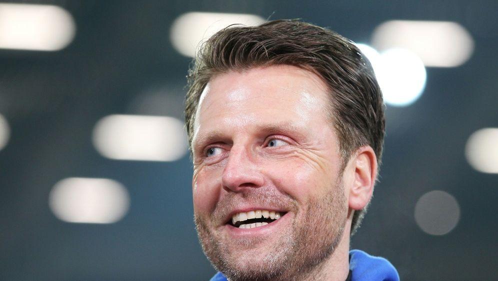 Rico Schmitt soll Carl Zeiss Jena vor dem Abstieg retten - Bildquelle: firo Sportphotofiro SportphotoSIDfiro Sportphoto