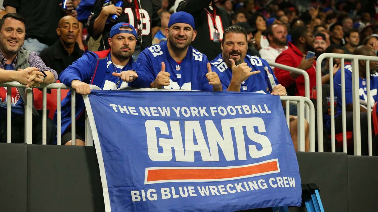 Platz 3: New York Giants  - Bildquelle: imago/Icon SMI