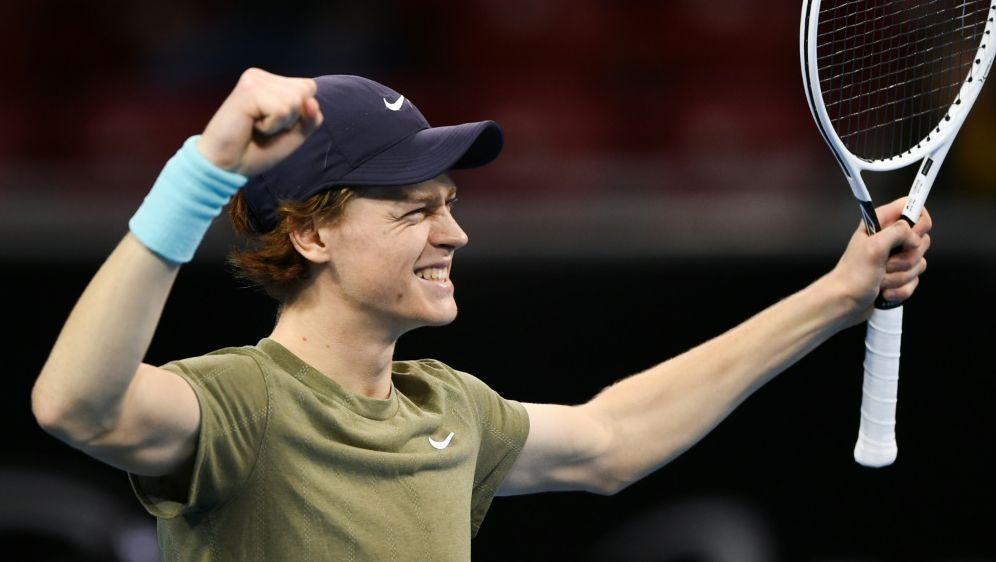 Sinner ist der jüngste ATP-Sieger seit zwölf Jahren - Bildquelle: AFPSIDNIKOLAY DOYCHINOV