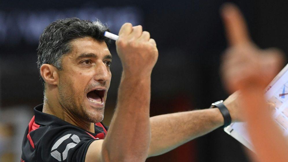 Volleyball-Bundestrainer der Männer: Andrea Giani - Bildquelle: AFPSIDPIOTR NOWAK