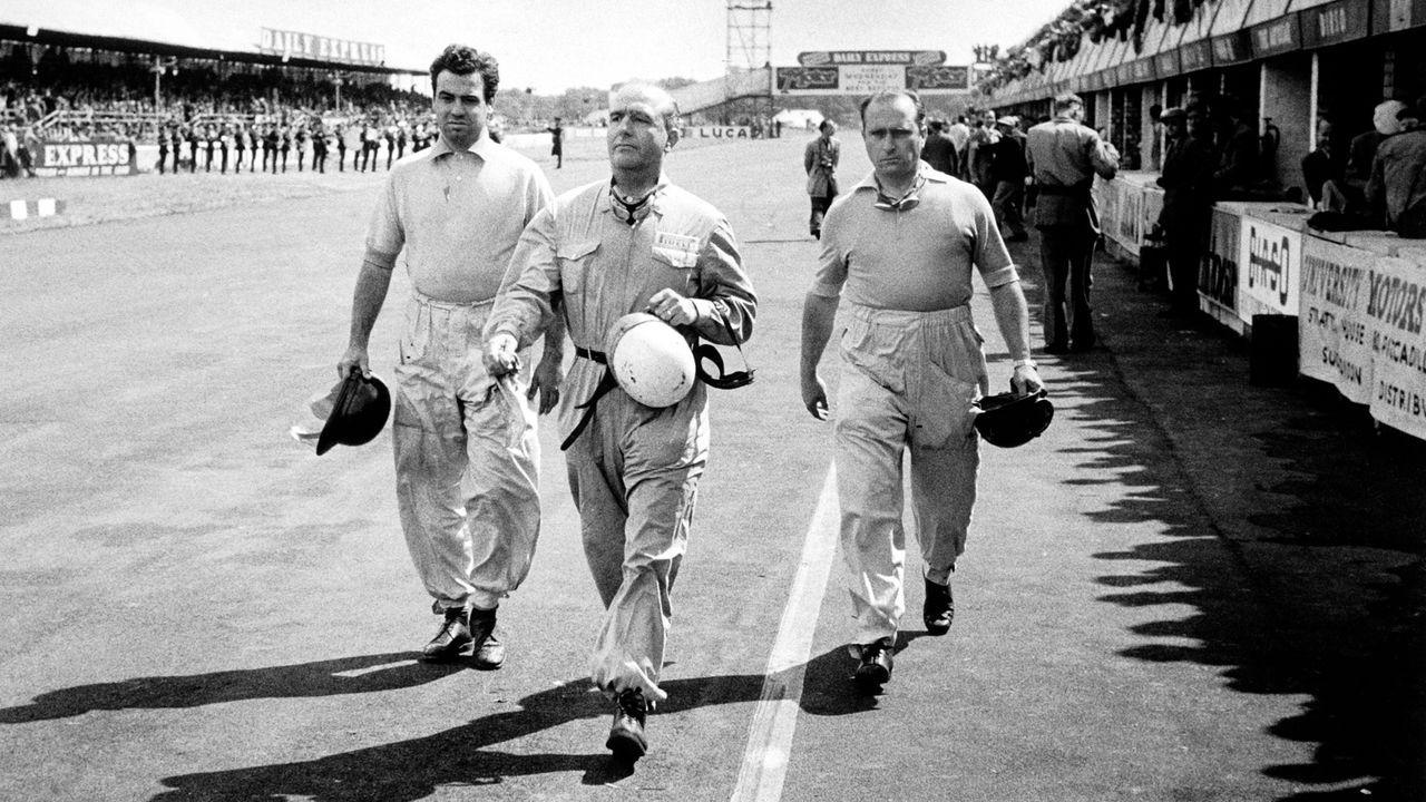 Guiseppe Farina vs. Juan Manuel Fangio - Bildquelle: imago sportfotodienst