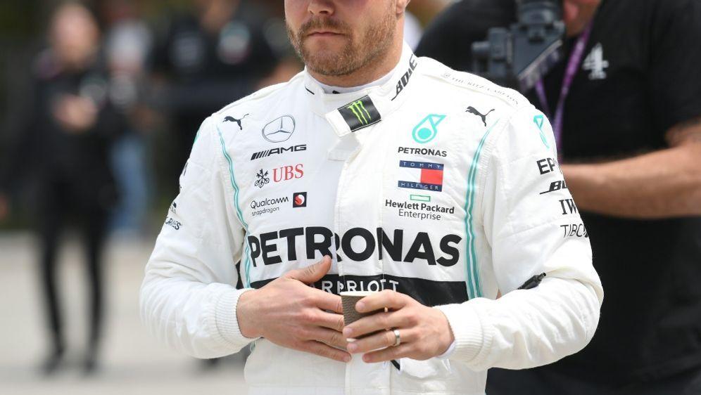 Sicherte sich die Pole Position: Valtteri Bottas - Bildquelle: AFPSIDGREG BAKER