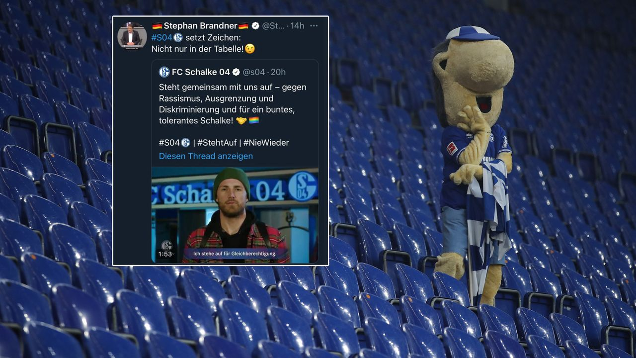 Twitter-Zoff: Schalke 04 kontert AfD-Politiker ... - Bildquelle: Maik Hölter/TEAM2sportphoto/Pool http://www.team2sportphoto.de Screenshot: twitter @s04