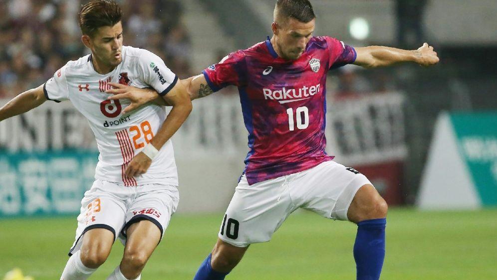 Für Podolski und Kobe läuft es nicht rund - Bildquelle: JIJI PRESSJIJI PRESSSIDSTR