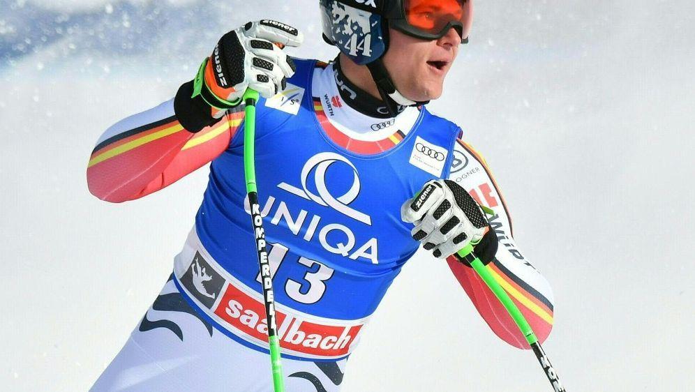 Starke Leistung: Thomas Dreßen gewinnt in Saalbach - Bildquelle: AFPAPASIDBARBARA GINDL
