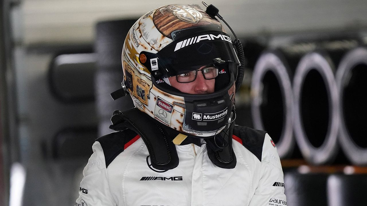Maximilian Götz (Mercedes-AMG Team HRT) - Bildquelle: imago images/Nordphoto