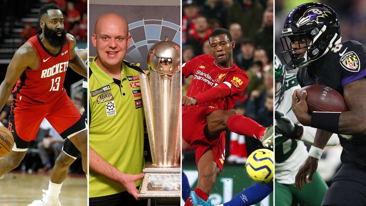 Die Sport-Highlights zum Jahresende - Bildquelle: Getty Images, imago/ZUMA Press