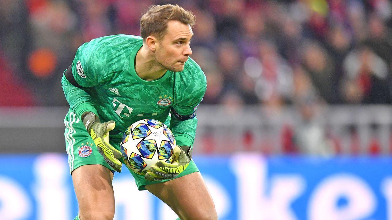 Gruppenphase, 4. Spieltag: Manuel Neuer (FC Bayern) - Bildquelle: 2019 Getty Images