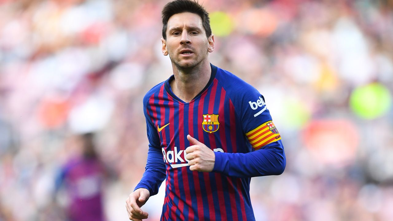 1. Lionel Messi (31 Jahre, FC Barcelona) - Bildquelle: 2019 Getty Images