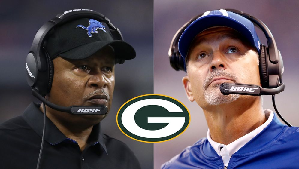 Jim Caldwell (re.) und Chuck Pagano (re.) wurden von den Green Bay Packers f... - Bildquelle: Getty Images